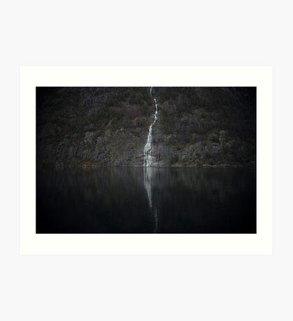 Wasserfall (Das Unbekannte) Kunstdruck