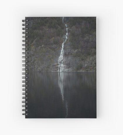 Wasserfall (Das Unbekannte) Spiralblock