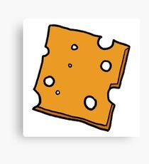 Cheese. Canvas Print