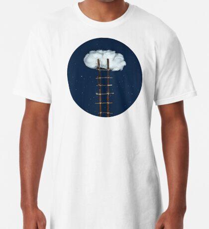Treppe zu den Wolken Longshirt