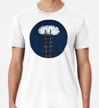 Treppe zu den Wolken Premium T-Shirt