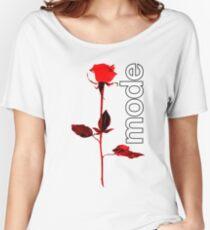 Mode Rose Women's Relaxed Fit T-Shirt