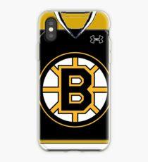 Bruins jersey iPhone Case