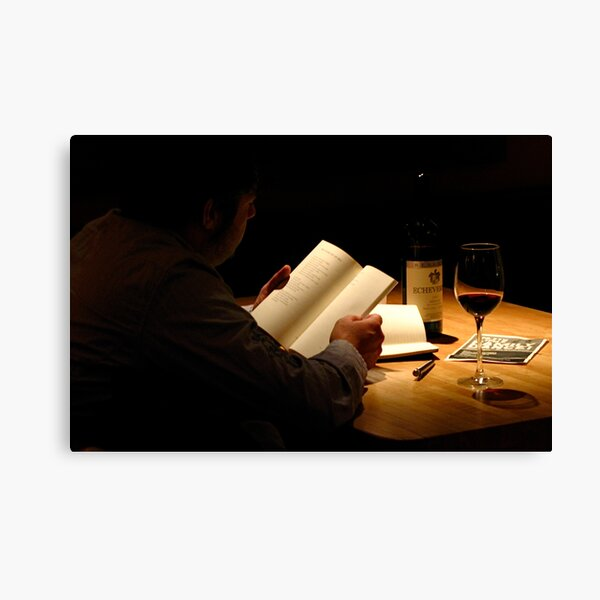 The Reading Canvas Print