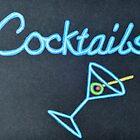 Cocktails in Neon by lisavonbiela