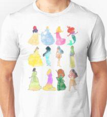 Princesses watercolor T-Shirt
