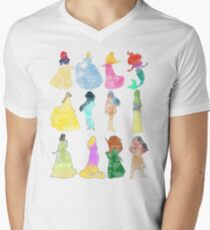 Princesses watercolor T-Shirt