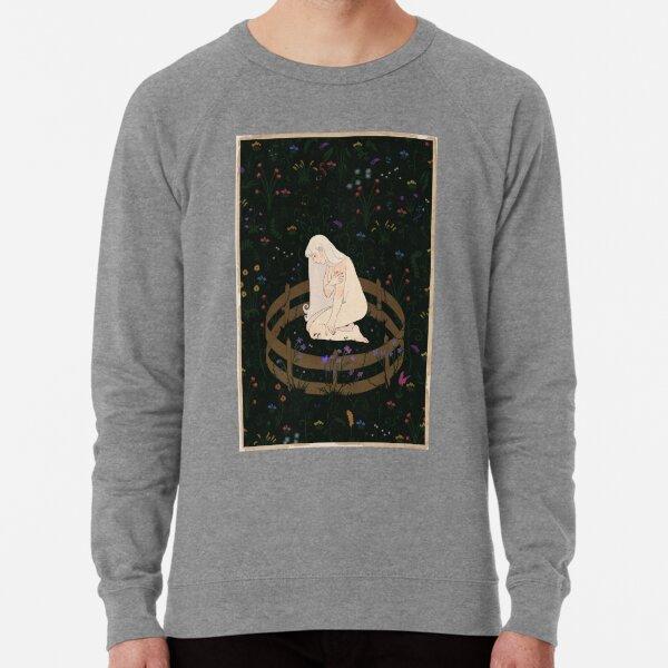 the unicorn is in captivity Lightweight Sweatshirt