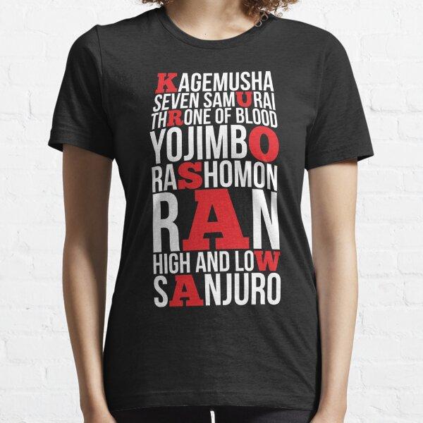 AKIRA KUROSAWA Essential T-Shirt