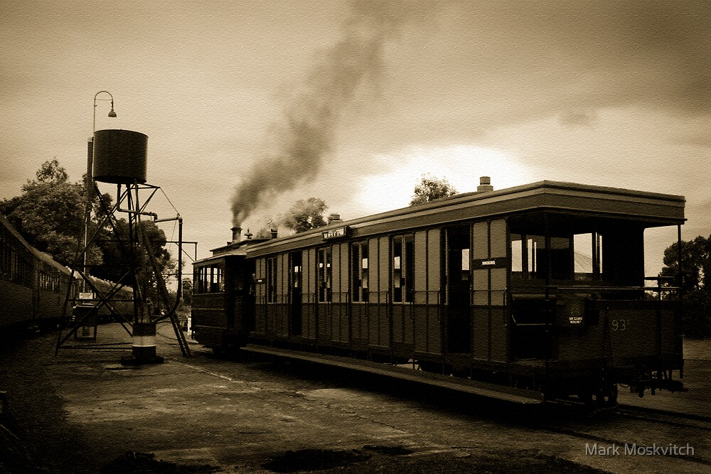 Steam Tram by Mark Moskvitch