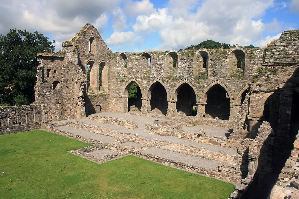 Jerpoint Abbey by John Quinn