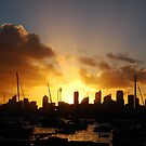 Sunset Sydney Harbour by Of Land & Ocean - Samantha Goode