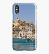 Mġarr Harbour, Gozo iPhone Case/Skin
