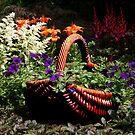 My Garden Petunia Basket by SummerJade