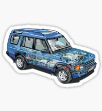 Land Rover Discovery II Sticker