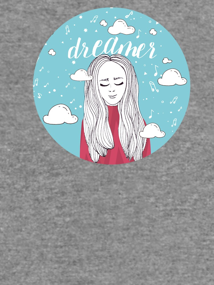 Dreamer Girl Illustration by mirunasfia