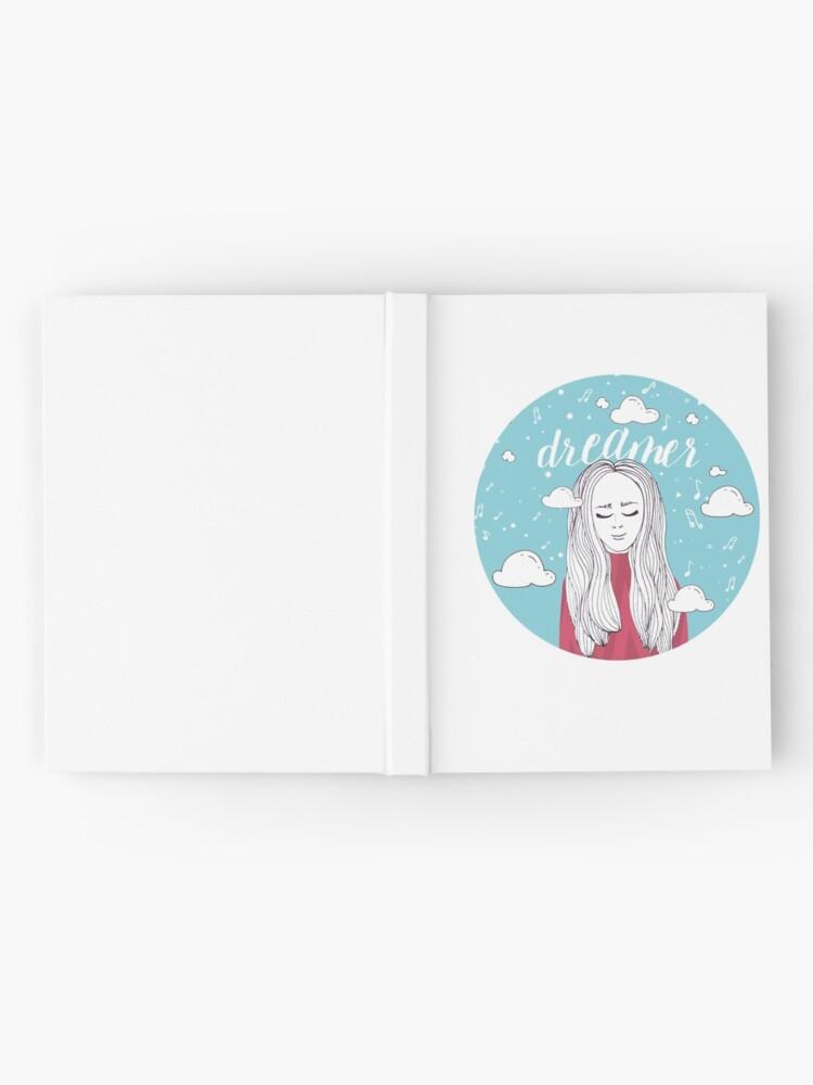 Alternate view of Dreamer Girl Illustration Hardcover Journal