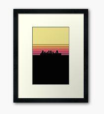 Fort Worth Skyline Framed Print