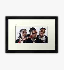 Migos Framed Print