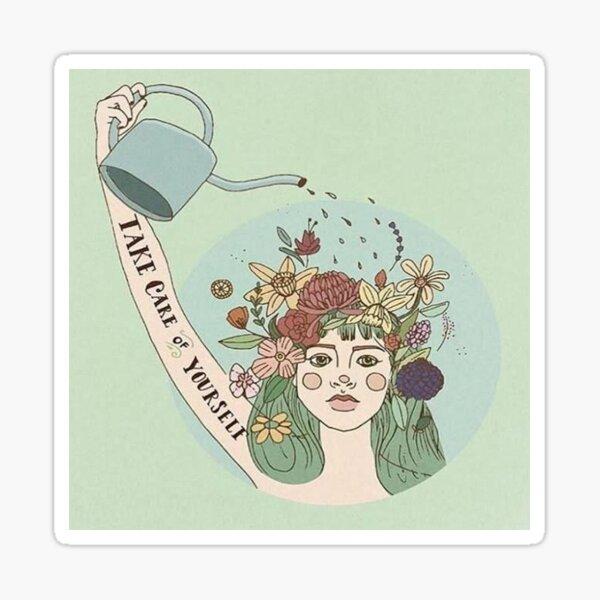 Self Care Sticker