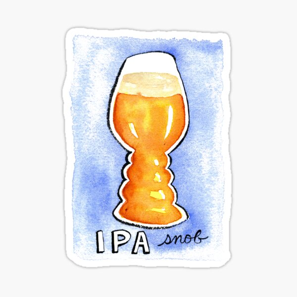 IPA Snob Sticker