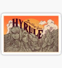 Greetings from Hyrule Sticker
