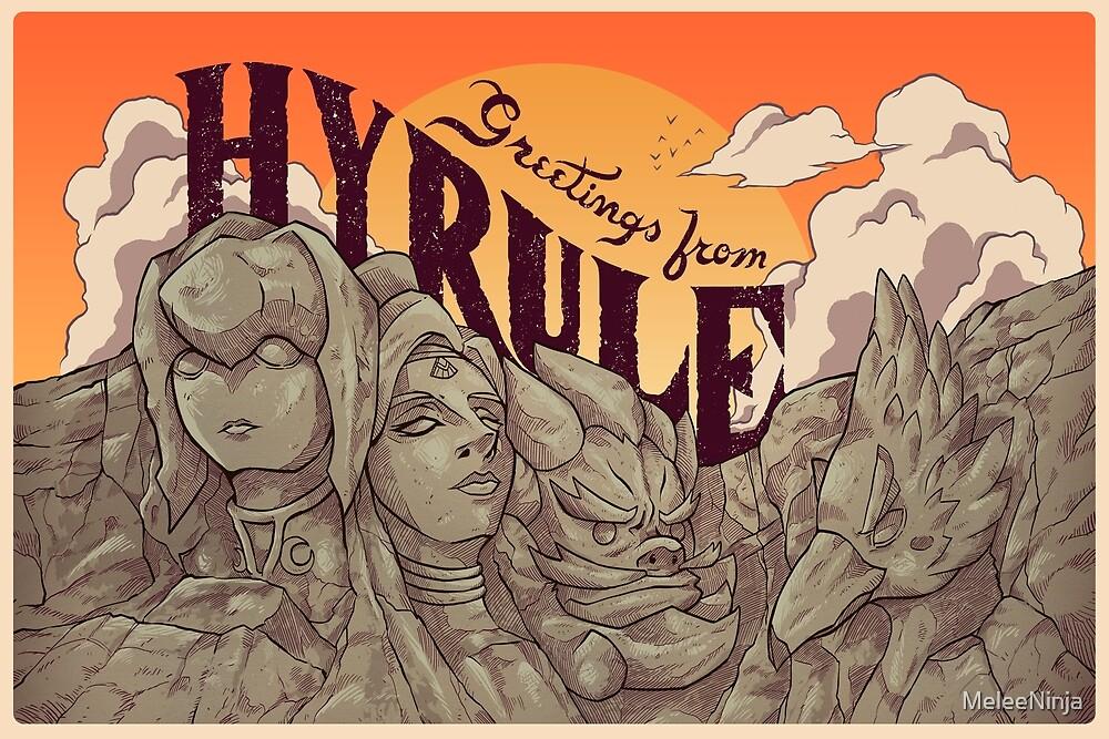Greetings from Hyrule by MeleeNinja
