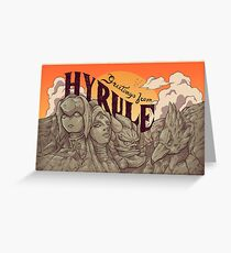 Greetings from Hyrule Greeting Card