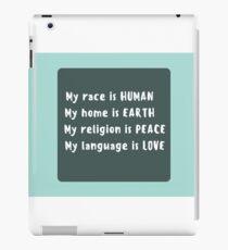 Peppy Humanist iPad Case/Skin