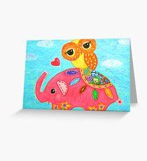 Love Is Like An Elephant Greeting Card