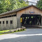 Bissell Bridge Charlemont MA by Rebecca Bryson