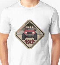 Red offroad car truck 4x4 T-Shirt