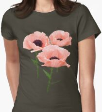 When You Say Nothing At All~ Poppies Women's Fitted T-Shirt