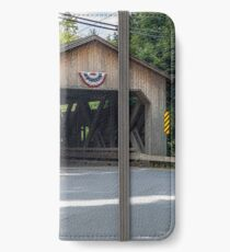Bissell Bridge Charlemont MA iPhone Wallet