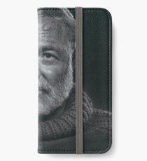 Ernest Hemingway iPhone Wallet