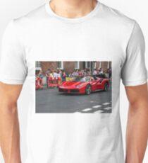 Red ferrari 488 convertible T-Shirt