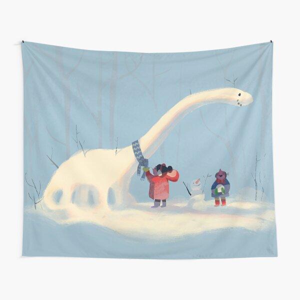 Frozen Dinosaur Tapestry