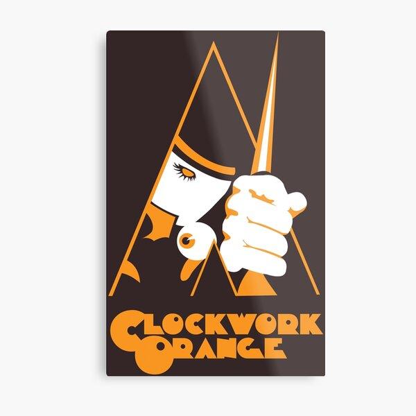 CLOCKWORK ORANGE Metal Print