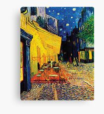 Vincent Van Gogh - Cafe Terrace at Night Canvas Print