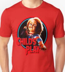 Chucky , child's play, diabolicall doll T-Shirt