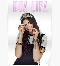 Dua Lipa queen Poster