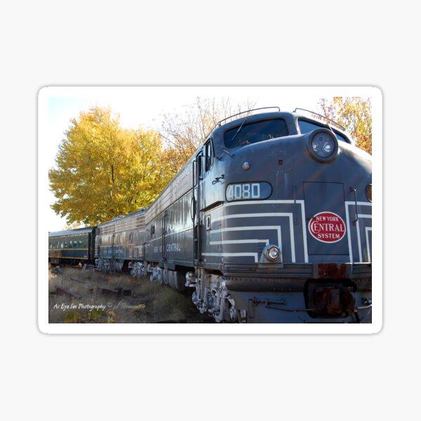 Fall Aboard Sticker