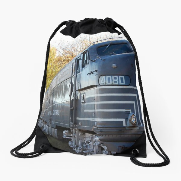 Fall Aboard Drawstring Bag
