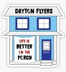 University of Dayton Porch Sticker