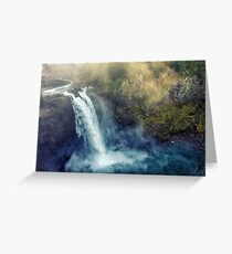 Snoqualmie Falls Greeting Card
