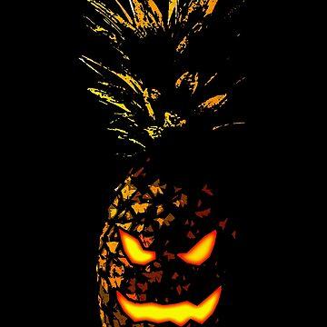 Halloween Pineapple by Bronzarino