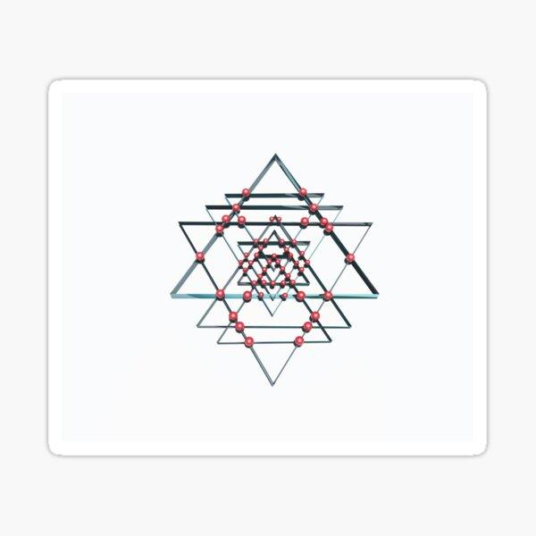 Pure Positive Energy - Sri Yantra Sticker