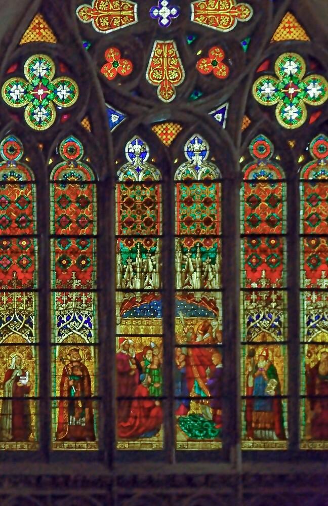 Cathedral, Regensburg 24C by Priscilla Turner