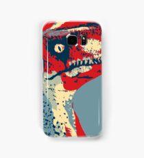 Raptor Propaganda - Clever Girl  Samsung Galaxy Case/Skin