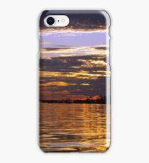 Cloudy Amazon Sunset iPhone Case/Skin
